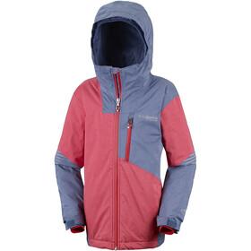 Columbia Rad To The Bone Ski Jacket Youth, dark mountain/red